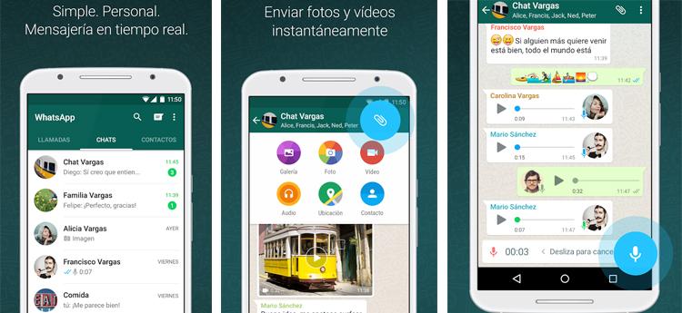 descargar WhatsApp en una tablet