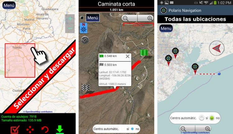 Polaris Navegación GPS