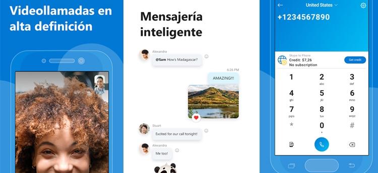app para Android skype