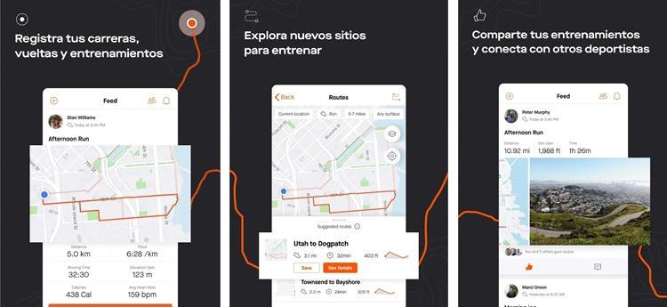 strava, mejor app para Android deportiva