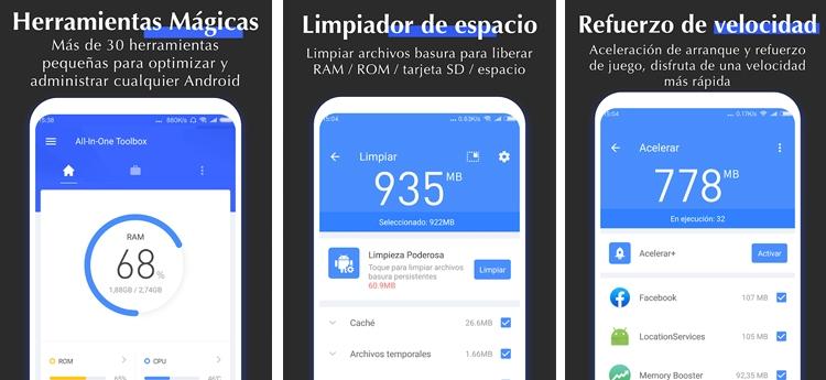 mejores aplicaciones optimizar Android