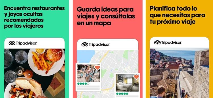mejores apps de viajes tripadvisor