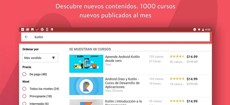 udemy para Android