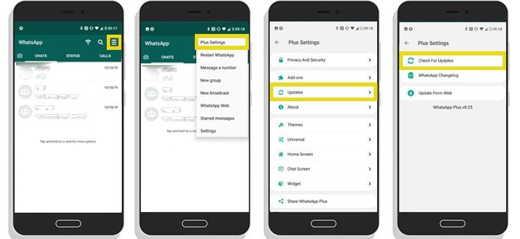 actualizar whatsapp plus metodo2