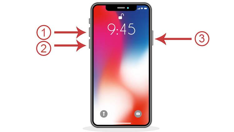 hard reset iPhone 8 o superior