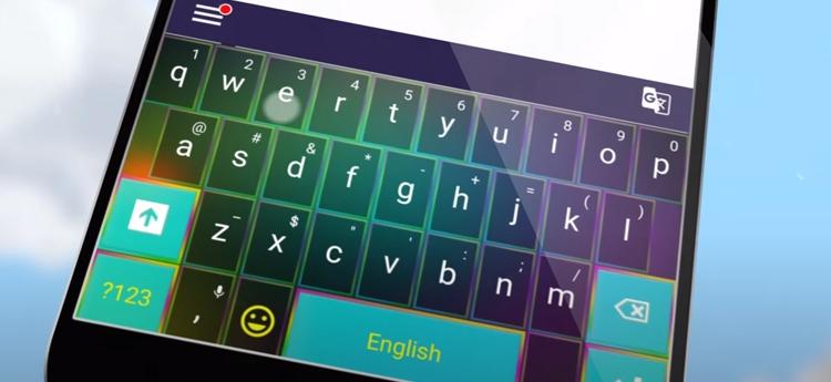 mejores teclados de colores para celular