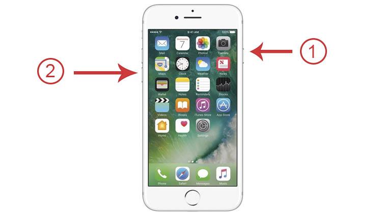 reiniciar el iPhone cuando no responde