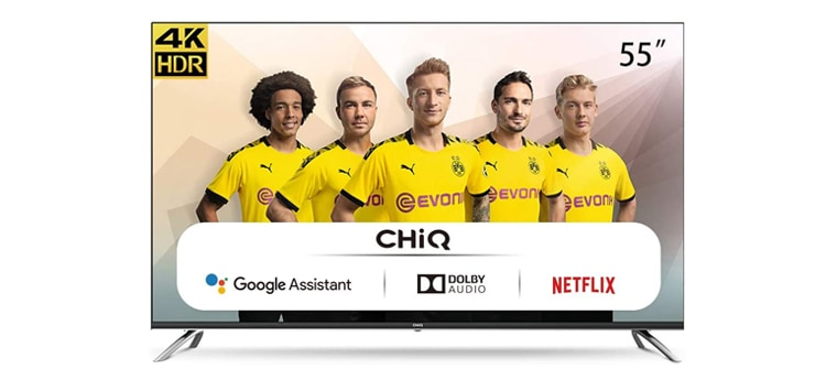 televisor ChiQ de 55 pulgadas