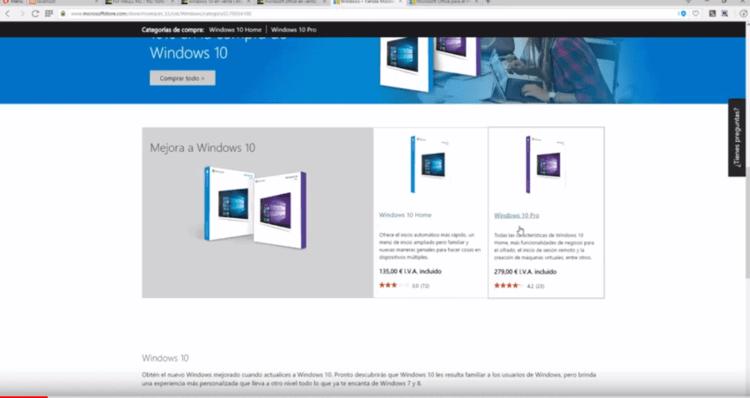 Comprar Windows 10 retail barato ¡Aquí puedes tener la licencia!