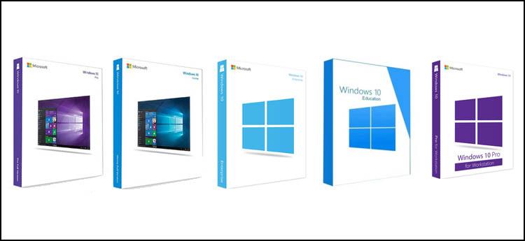 ediciones de windows 10