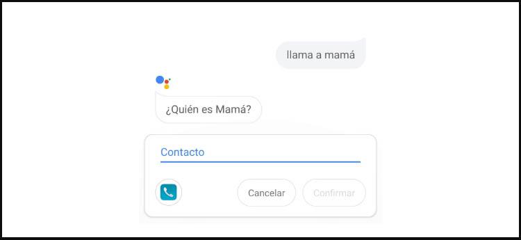 llamar a mama en Android