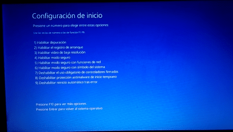 saber como iniciar modo seguro windows 10