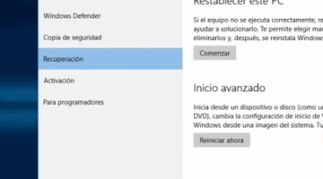la forma de quitar modo seguro windows 10