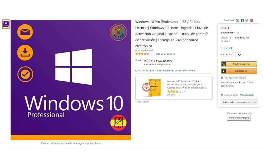 windows 10 oem