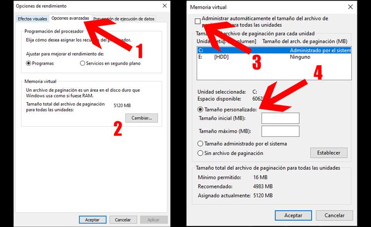 acelerar pc con windows 10