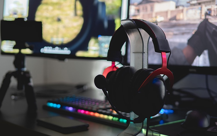 estética de un ordenador gaming