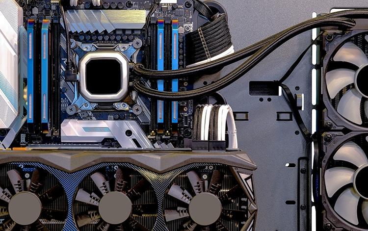 hardware de un pc gaming