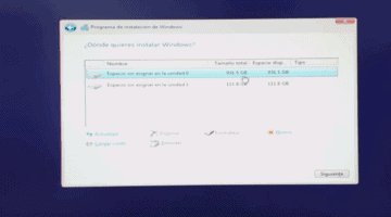 instalar windows desde usb