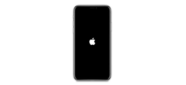 Mi iPhone se queda en el logo de la manzana
