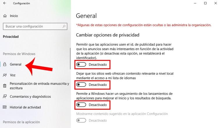 permisos de windows 10