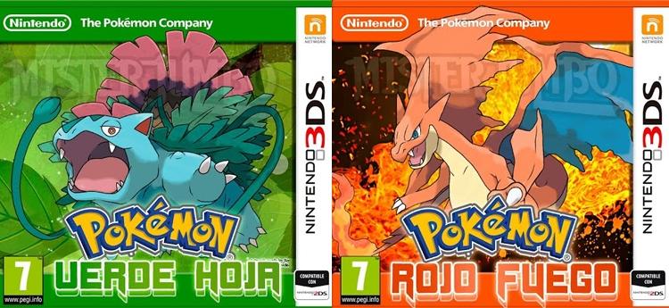 pokemon rojo fuego y verde hoja