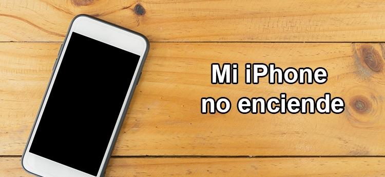 que hacer si mi iPhone no enciende