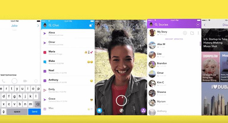 snapchat, una de las mejores aplicaciones para iphone gratis