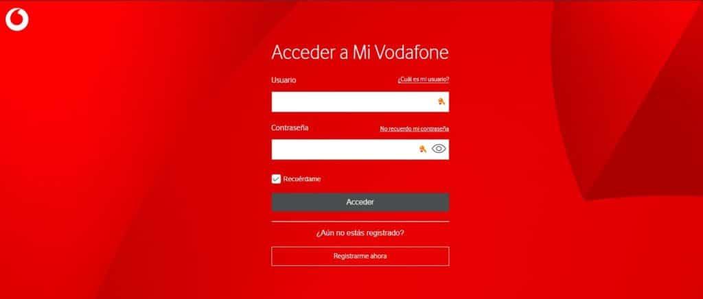 web mi Vodafone