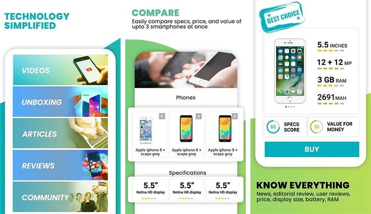 aplicación Mr Phone para elegir el mejor movil calidad precio