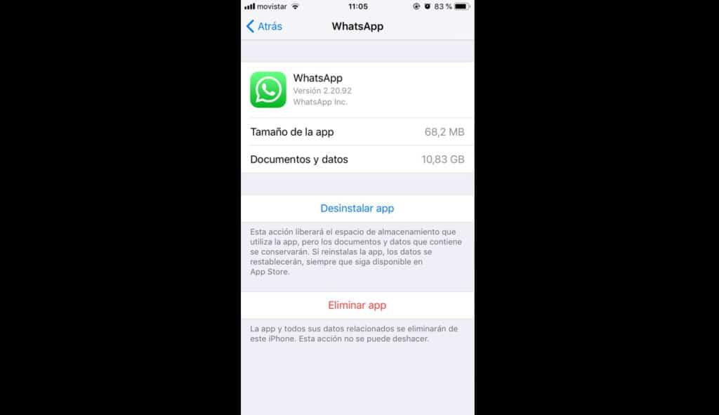 quitar apps del iPhone