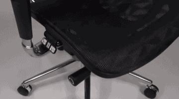 unas sillas de oficina