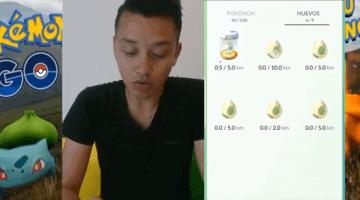 los huevos de 10-km pokemon go