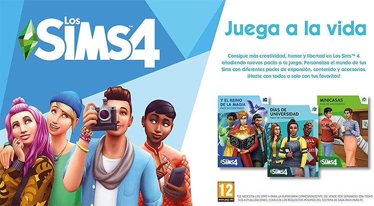 mejores juegos para niños sims 4
