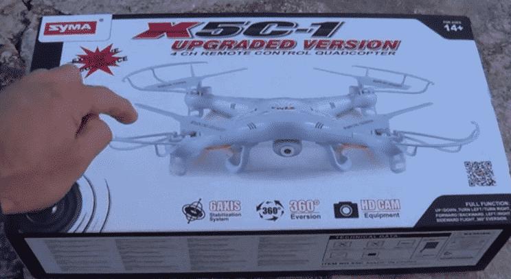 Opiniones al comprar el drone Syma X5C