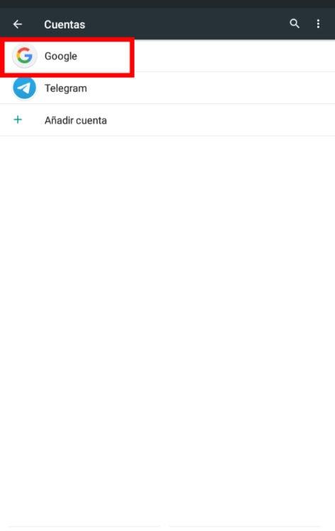 Sincronizar los contactos de tu Android con Google