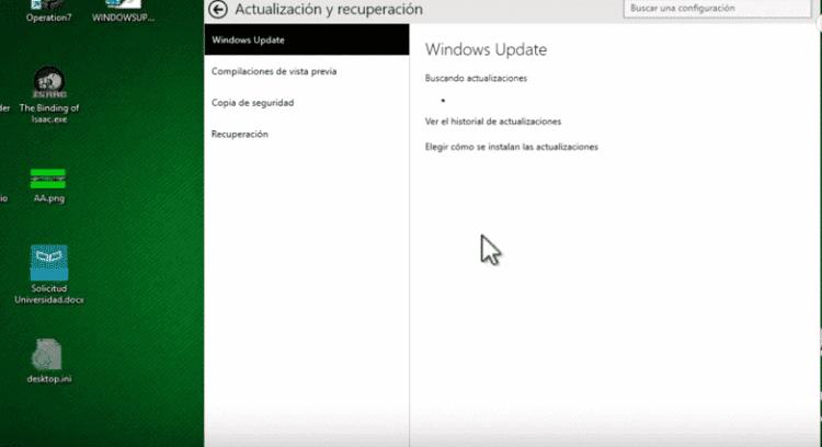 el windows update no funciona