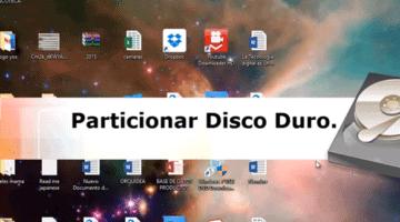 como particionar disco duro en windows 10