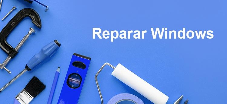 como reparar windows 10