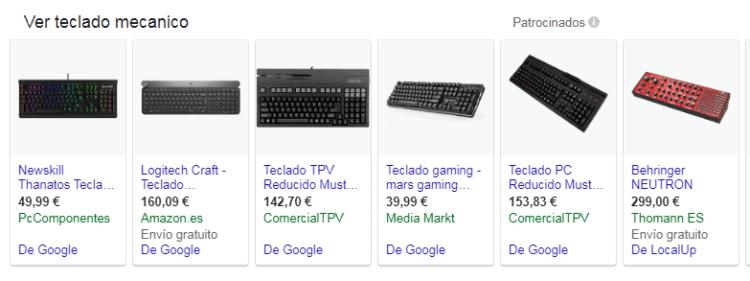 mejores teclados mecánicos 2018