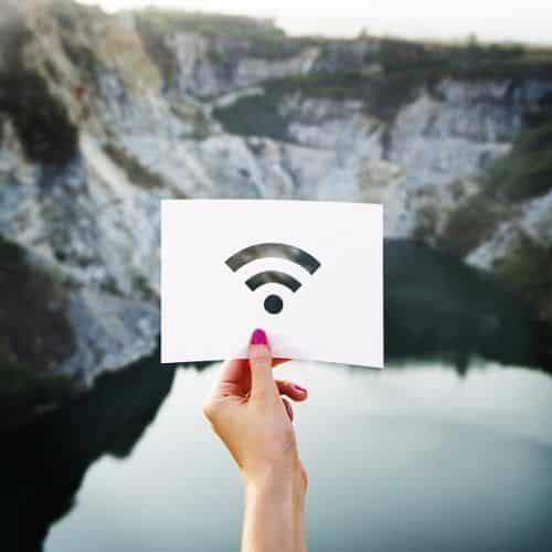red wifi fuera de la ciudad