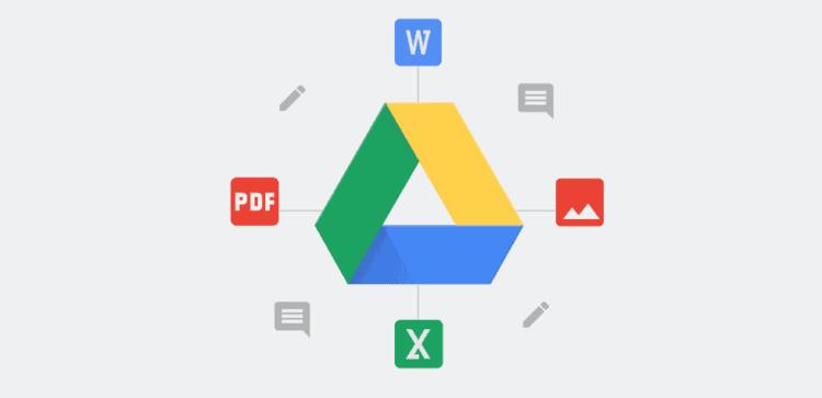 subir documentos a google drive
