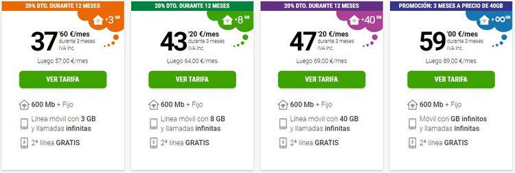 ofertas yoigo 600 mb