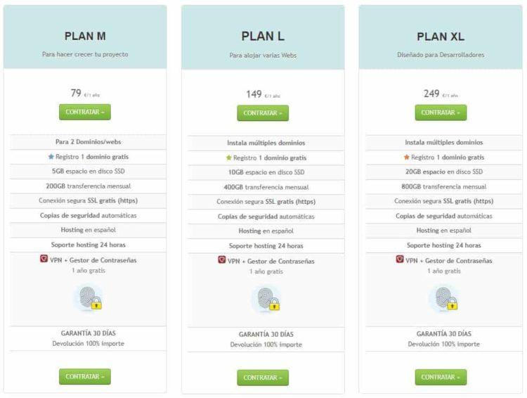 planes webempresa