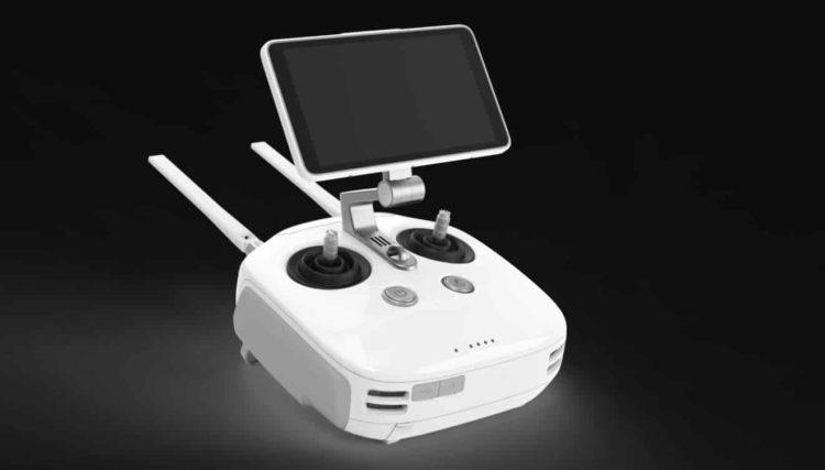 mando control del dron