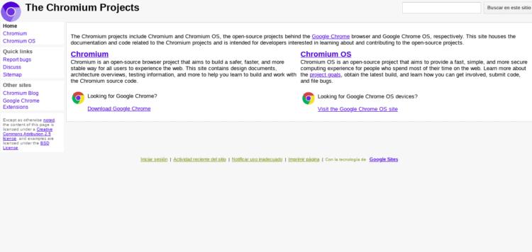 qué es chromium