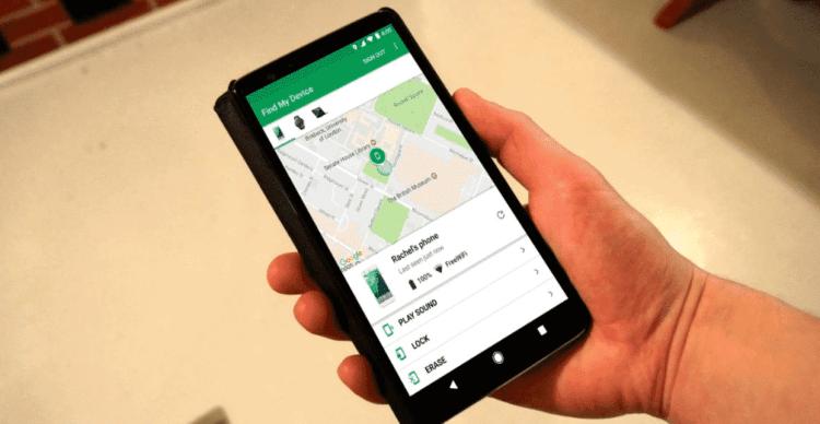 encontrar mi dispositivo con Google