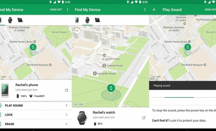 cómo localizar un celular gracias a google