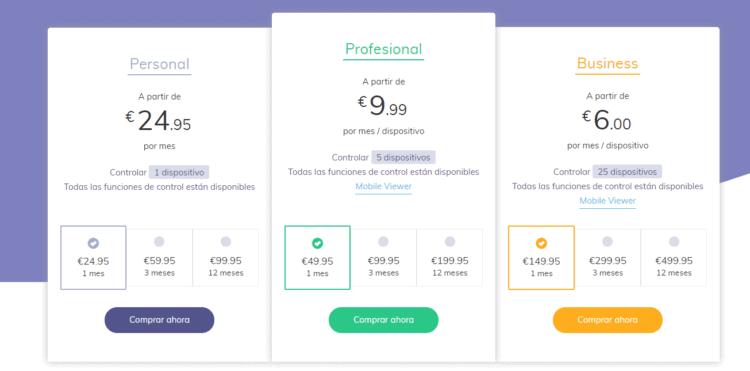 precios de hoverwatch