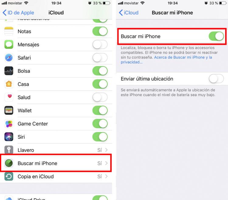 rastrear un iphone paso2