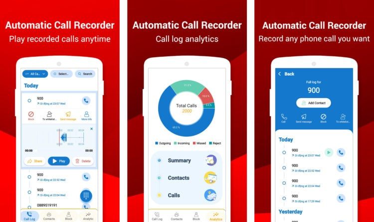 Autotomatic Call Recorder